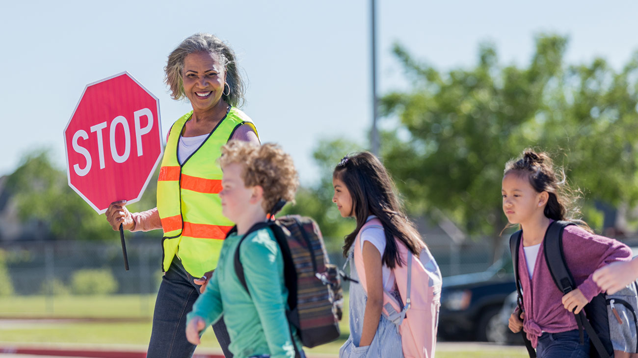 Safe Streets Pinellas - Kids crossing