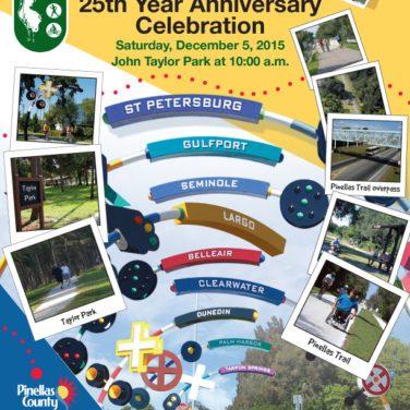 Happy 25th Silver Anniversary, Pinellas Trail!