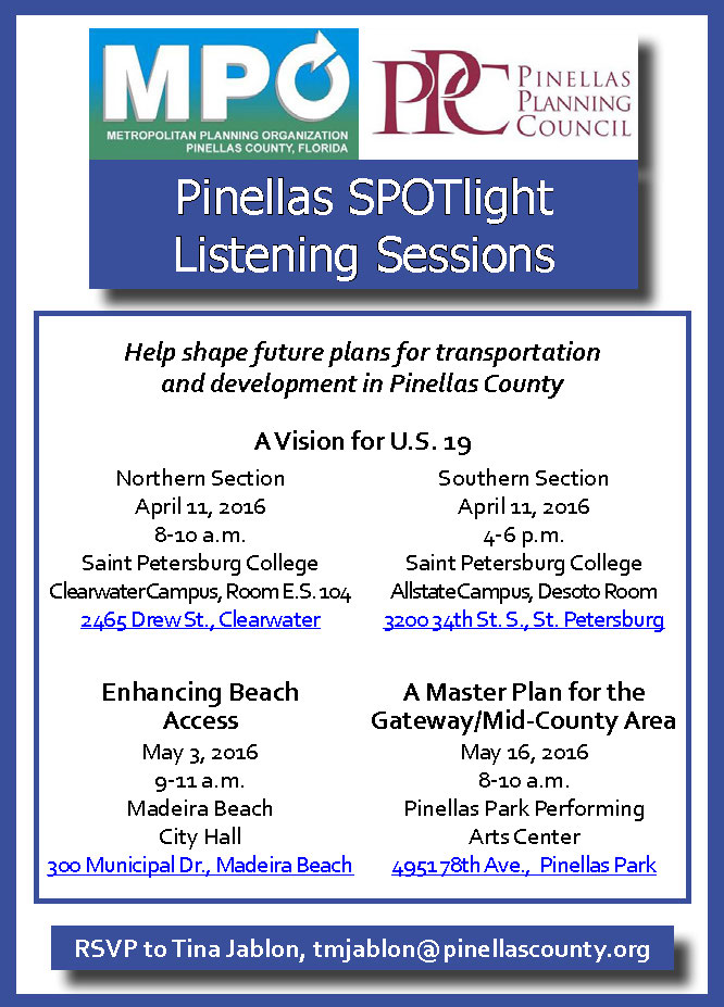 SPOTlight Listening Session Invitation
