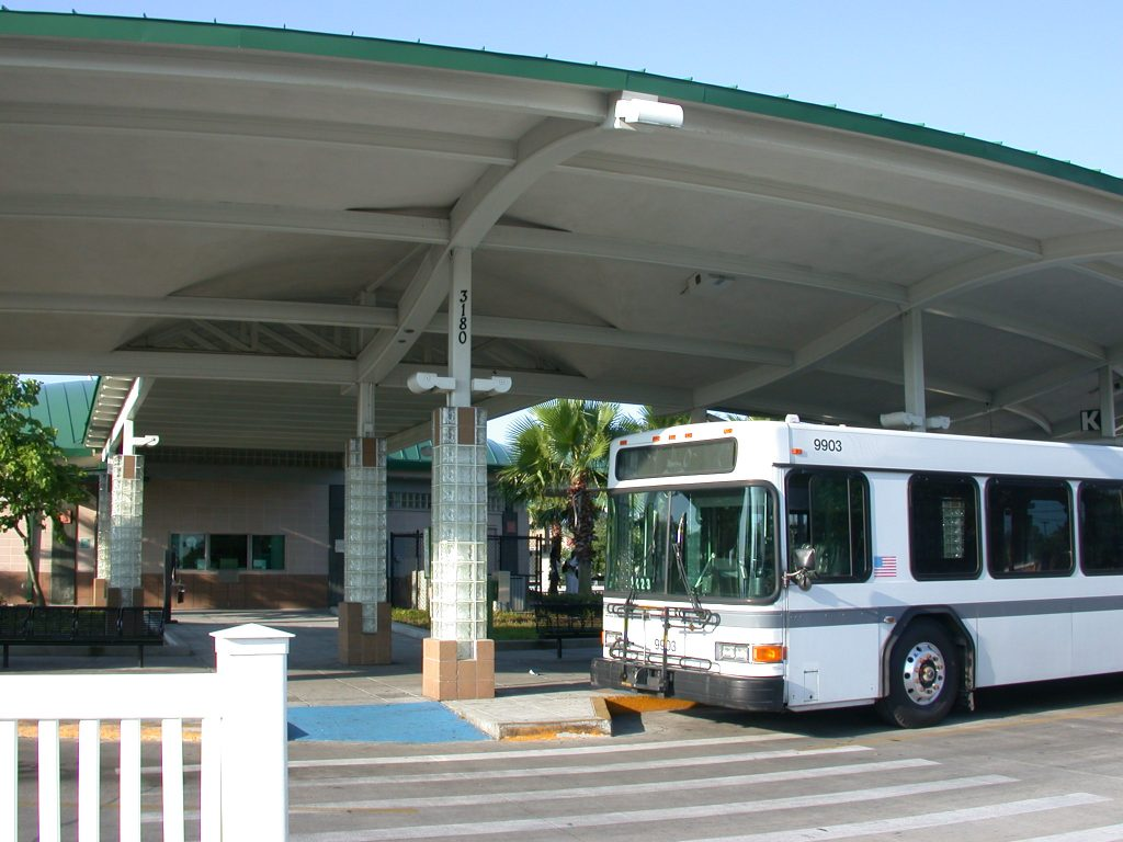 PSTA Bus Terminal, Central Avenue, St. Petersburg 2