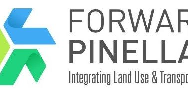 Forward Pinellas Logo, Integrating Land Use & Transportation