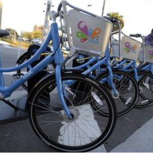 Coast bike share bikes