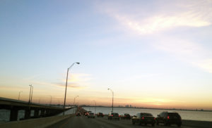 northbound Howard Frankland Bridge
