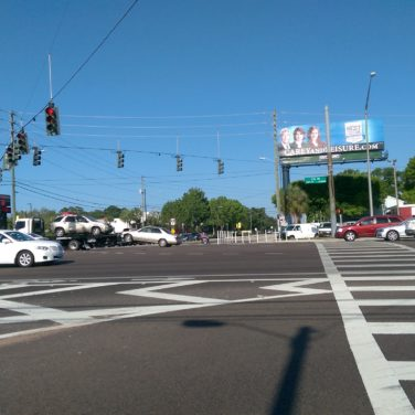 The US 19 and Tampa Road intersection.