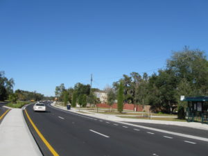 A Complete Street area of 40th Street in Tampa