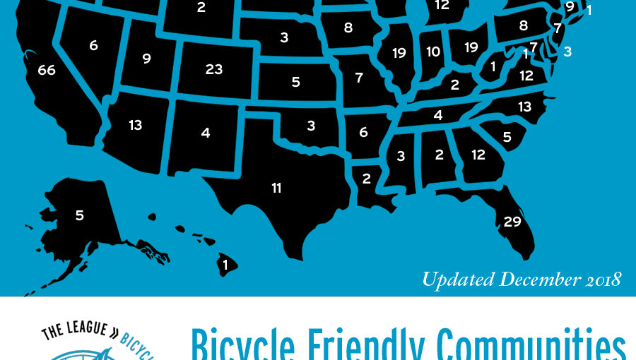 Pinellas County named Bronze Level Bicycle Friendly Community by the League of American Bicyclists