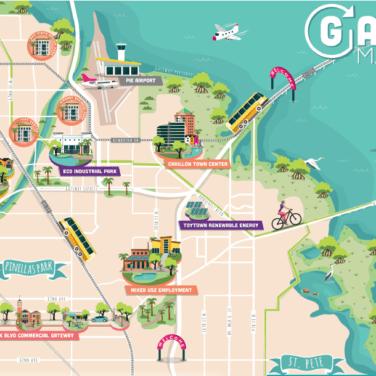 gateway masterplan map