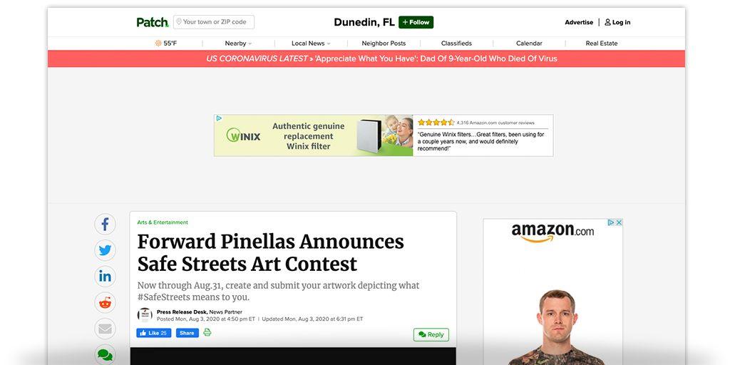 Forward Pinellas Art Contest