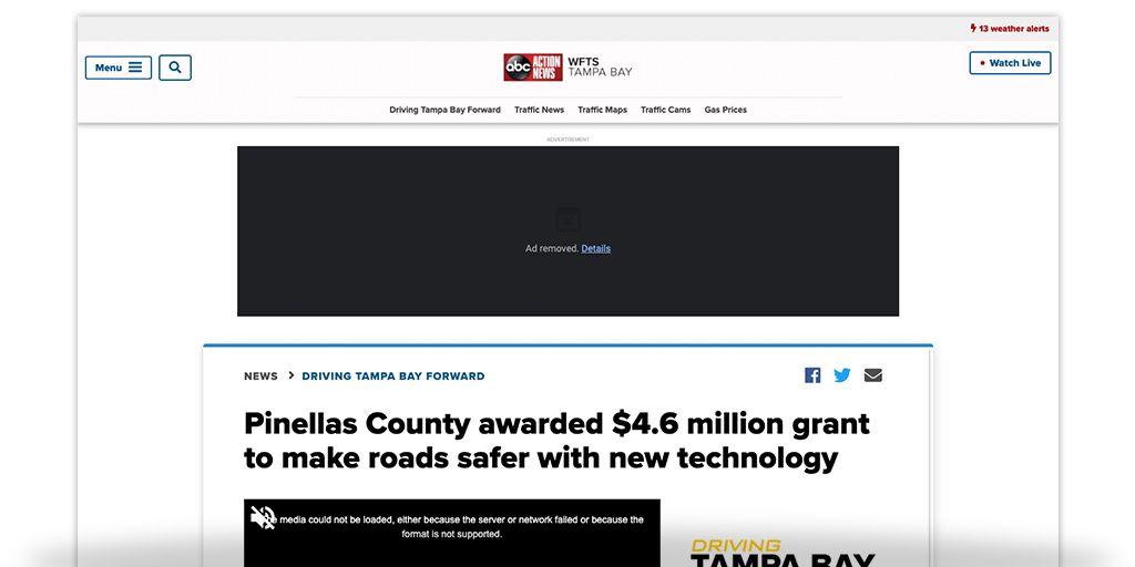 Forward Pinellas County Awarded