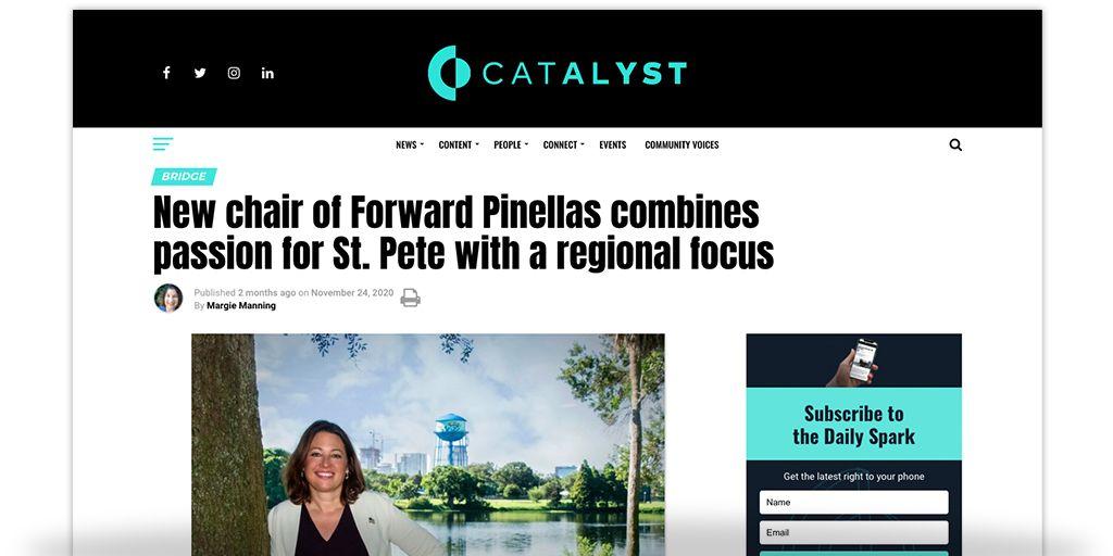 Forward Pinellas Passion Regional Focus
