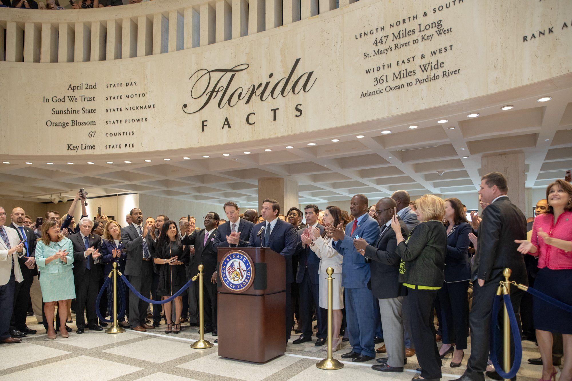 Desantis ends legislative session