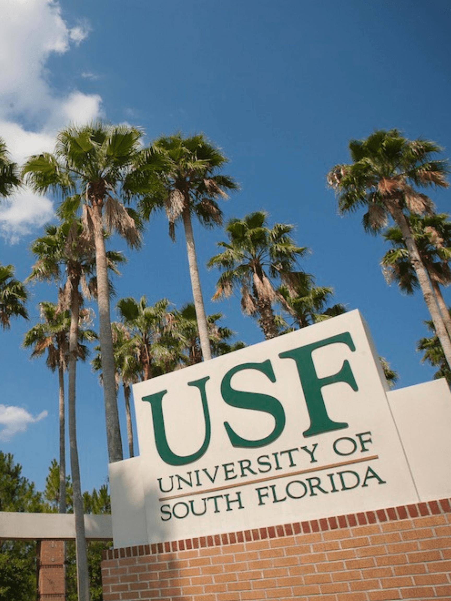 USF sign